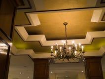 De Lamp van het plafond Royalty-vrije Stock Afbeelding