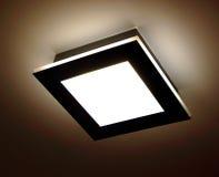 De lamp van het plafond Stock Afbeeldingen