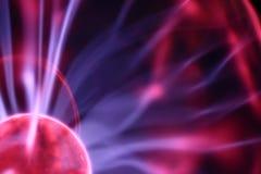 De lamp van het plasma stock afbeeldingen