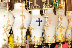 De lampen van de kerk., Stock Foto's