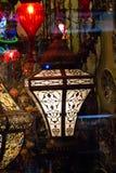 De lampen van de mozaïekottomane van Grote Bazaar vector illustratie