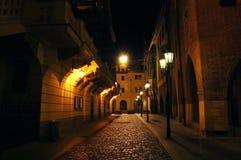 De lampen van de nacht Stock Foto's