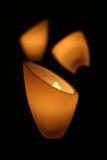 De lampen van de nacht Stock Foto