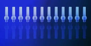 De lampen van Eco Stock Afbeelding