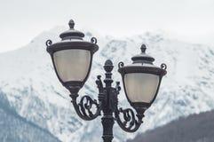 De lampen van de straatverlichting royalty-vrije stock afbeelding