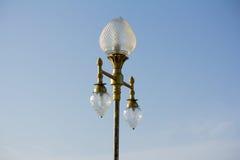 De lamppost Stock Foto's