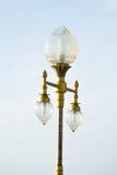 De lamppost Stock Afbeeldingen