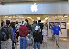 De Lancering van Ipad van de appel Royalty-vrije Stock Afbeeldingen