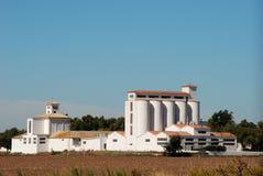 De landbouw opslagbouw Royalty-vrije Stock Fotografie