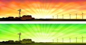 De landbouw van Eco Royalty-vrije Stock Afbeeldingen