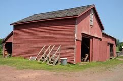 De landbouwbedrijfbouw in Windsor Castle Park - Smithfield, Virginia Royalty-vrije Stock Afbeeldingen