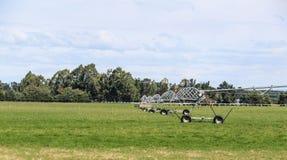 De landbouwbedrijven, de rivieren en de bossen van het zuideneiland van Nieuw Zeeland royalty-vrije stock afbeelding