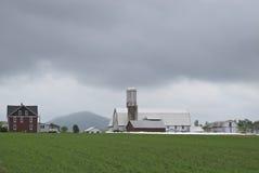 De landbouwbedrijven van Amish Stock Afbeeldingen