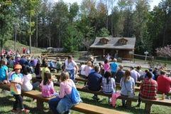 De Landbouwbedrijven van de Robafamilie in de Gemeente van het Noordenabington in Pennsylvania royalty-vrije stock foto