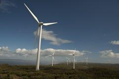 De Landbouwbedrijven van de wind Stock Afbeelding