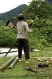 De Landbouwer van China Stock Fotografie