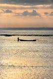 De landbouwer van het zeewier Royalty-vrije Stock Afbeeldingen