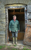 De Landbouwer van Shropshire Stock Foto's