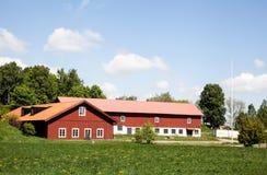 De landbouwers huisvesten. Huizen en milieu in Zweden royalty-vrije stock foto's