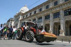 De landbouwers protesteren Stock Fotografie