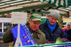 De Landbouwersmarkt van de Pimlicoweg, Londen Royalty-vrije Stock Afbeelding
