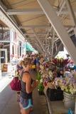De Landbouwersmarkt van de Roanokestad Royalty-vrije Stock Afbeelding