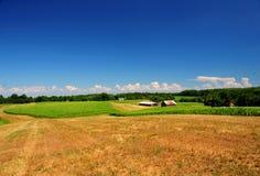De landbouwgrond van Pennsylvania Stock Afbeeldingen