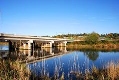 De landelijke brug van de Weg stock foto's