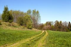 De landelijke weg Stock Foto's