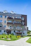 De landgoederen van de huisvesting stock afbeelding