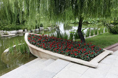 De landschappen in park Royalty-vrije Stock Afbeelding