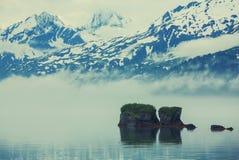 De landschappen van Alaska Stock Foto