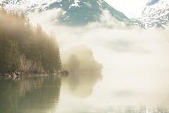 De landschappen van Alaska Stock Afbeelding