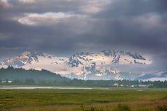 De landschappen van Alaska Stock Foto's