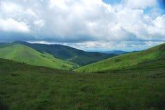 De landschappen van Carpatian Stock Foto