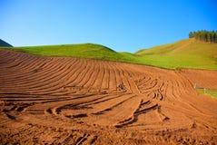 De landschappen van de Qilianberg Royalty-vrije Stock Afbeelding