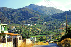 De landschappen van Kreta Royalty-vrije Stock Foto