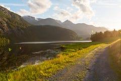 De landschappen van Noorwegen Royalty-vrije Stock Afbeelding