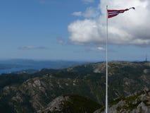 De landschappen van Noorwegen Royalty-vrije Stock Foto