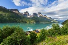 De landschappen van Noorwegen Royalty-vrije Stock Fotografie