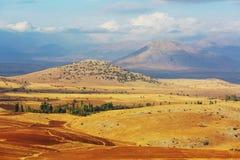 De landschappen van Turkije Royalty-vrije Stock Afbeeldingen