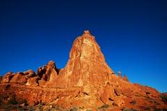 De Landschappen van Utah Stock Afbeeldingen