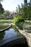 De landschappenontwerp van Nice in Dallas Arboretum stock afbeelding
