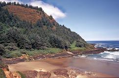 De Landtongen van de kust - Oregon Stock Fotografie
