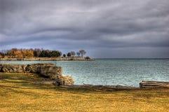De landtongen van Meer Ontario Royalty-vrije Stock Afbeelding