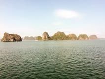 De Lange Baai van Ha Stock Afbeeldingen
