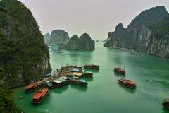 De Lange Baai van Ha Stock Fotografie