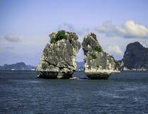 De Lange Baai van Ha Stock Foto
