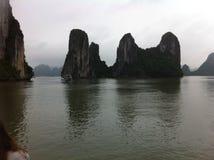 De Lange Baai van Ha stock foto's