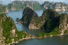 De Lange Baai van Ha royalty-vrije stock foto's